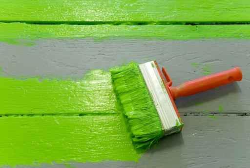green paint home improvement