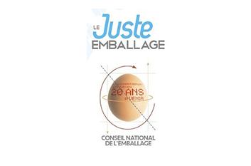 FETONS ENSEMBLE LES 20 ANS DU CNE ! découvrez notre cadeau «Le juste emballage»